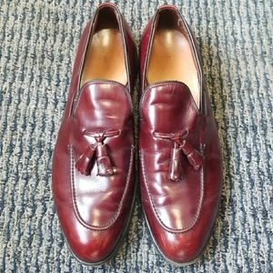Allen Edmonds Saratoga Burgundy Men's Dress Shoes